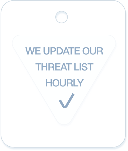 update our threat list hourly